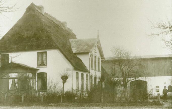 Altes Bild des Hauses